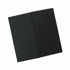 50 Large black GATEFOLD Square cards & Envelopes(150mm)