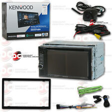"KENWOOD DDX574BH 6.2""LCD DVD BLUETOOTH HD RADIO FREE BLACK KEYHOLE BACKUP CAMERA"