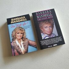 BARBARA MANDRELL - Bundle Lot of 2 Cassette Tapes - Greatest Hits + I've Made It