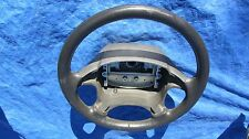 97-00 Volvo OEM C70 S70 V70 V70R Charcoal Grey Leather Steering Wheel Clean!!!