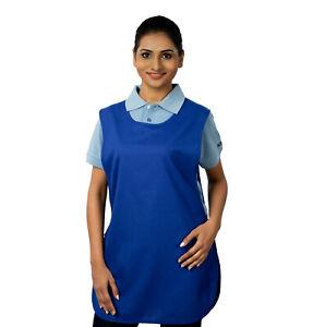 M130 Ashdan Tabards (No Pocket) - 7 Colours, slim fit, kitchenwear, food trade