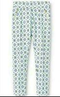 Girl's Cherokee Fashion Ponte Pants Cool Mint Size XL (14/16) NEW