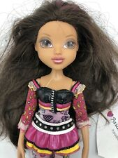 """MGA 2009 Moxie Girls Girlz 10"""" Doll Brunette Brown Eyes Dressed Outfit No Feet"""