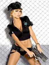 Sexy Polizei Kostüm Polizistin Police Set OB Verkleidung Shorts Mütze Cop 36 38