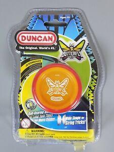 Duncan Butterfly XT Wide Shape String Yo Yo Intermediate Red Orange 2 tone color