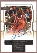 JERMAINE TAYLOR 999 $15 MINT ROOKIE AUTO RC SP 2009-10 PANINI CLASSICS AUTOGRAPH