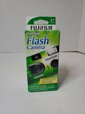 Fujifilm Fuji Quicksnap Flash 400 Disposable Single Use 35mm Camera  Exp 2/22