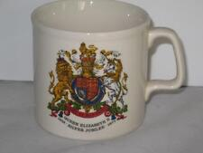 Queen Elizabeth II Silver Jubilee Mug Cup Lion Unicorn Shield Visit to Stirling