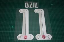 Arsenal 15/16 #11 OZIL UEFA Champions League HomeKit Nameset Printing