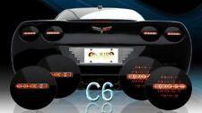 2005-2013 C6 Corvette Midnight Onyx LED Tail Lights (Set of 4)