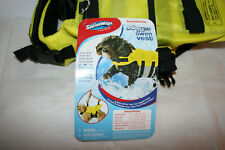 NEW SWIMWAYS Dog Swim Life Vest Jacket Full Body Flotation Size Small 10-20 Lbs