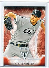 2015 Topps Triple Threads Chris Sale Chicago White Sox Amber Parallel /125