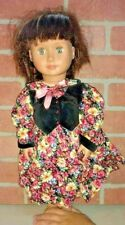 """18""""  DOLL CLOTHES,flower dress,vtg,fits american girl dolls and others"""