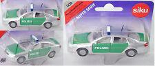 Siku Super 1420 Audi A6, Modell 1997-2004, Polizei-Einsatzfahrzeug, ca. 1:53