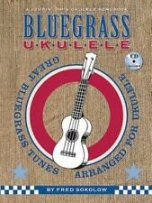 Jumpin' Jim's Bluegrass Ukulele Fred Sokolow Songbook Book & Cd Uke Song Book