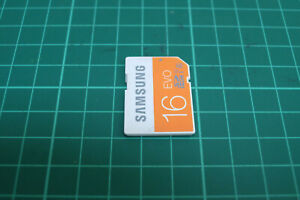 Samsung Evo 16gb SD Card, For Digital Cameras, Used