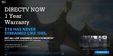 DIRECTV NOW Live a Little - 1 Year - Fast Delivery - Warranty
