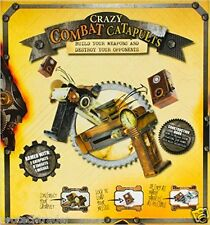 Crazy Combat Catapults Box Set NIB 978-1472322531 DIY Paper Construction Game