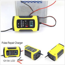 US Version Motorcycle ATV Lead Acid Storage Charger With LCD Display 150×85×60mm