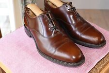 Lovely Loake leather goodyear welted shoes size 7 F made in England