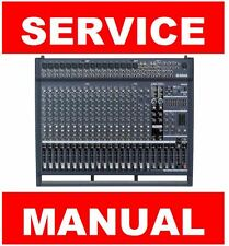 Yamaha EMX5000 Mixer Service Manual and Repair Guide