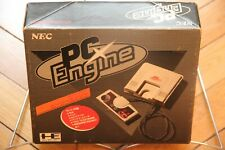 PC Engine White JAPAN PI-TG001 Console System Original Box Serial Matching Boxed