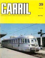 Carril n°39 - Autorails Renault en espagne, Tranvias de Argentona
