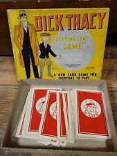 Dick Tracy game playing cards, Whitman, copyright 1934
