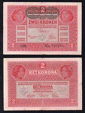 2  Kronen Austria 1917  BB+/VF+  >