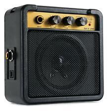 Portabler Mini Gitarrenverstärker Amp Gitarre Verstärker Batterie Akku Box 5W