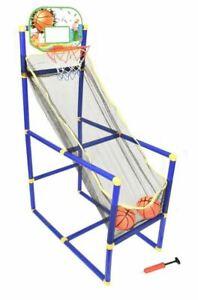 New Kids Children Indoor Outdoor Basketball Set Shoot Hoop Backboard Basket Ball