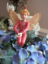 Cicely Mary Barker SCARLET PIMPERNEL Flower Fairy Ornament Figurine RETIRED