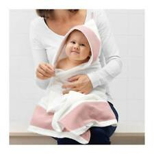 IKEA TILLGIVEN Baby towel with hood White/pink 60 x 125 cm 403.638.38 UK-B786