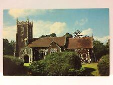 Postcard St. Mary Magdalene Church, Sandringham UK