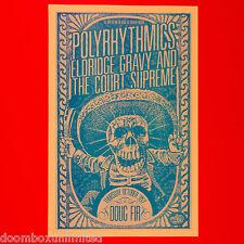 Polyrhytmics 2013 Original 11x17 Promo poster. Portland Oregon. Mint Conditon.