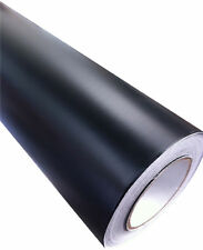 Negro mate pegatina de vinilo Wrap Para Coche/Moto 152 x 50cm