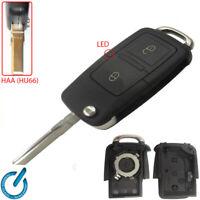 MANDO CARCASA LLAVE key AUDI SKODA Octavia SEAT Alhambra Leon Toledo 2 botones