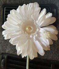 White VW flower  Gerbera pearl & snowflake VW Beetle SEE OUR WHOLE RANGE