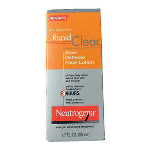 Neutrogena Rapid Clear Acne Defense Face Lotion 1.7 fl oz (50 ml)