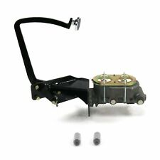 Brake Pedal kit Fits Ford 1935-40 for Ford OEM X Manual Disk/Drum Oval Chr Pad
