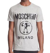 T SHIRT LOVE MOSCHINO MILANO GREY