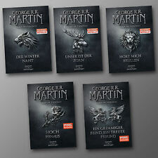 George R.R. Martin | GAME OF THRONES Band 1 - 5 Komplett Sonderausgabe