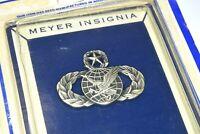 Authentic Vietnam War U.S. Air Force MASTER Supply & Fuels Badge Mint N.S. Meyer