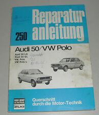 Reparaturanleitung VW Polo I Typ 86 + Audi 50, Baujahre 1974 - 1979
