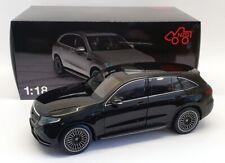 NZG 1/18 Scale 982/50 - 2019 Mercedes Benz EQC400 4matic (N293) - Black