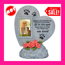 Pet Memorial Stones Dog Cat Grave Marker Headstone Loss of Pet Keepsake