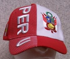 Embroidered Baseball Cap International Peru NEW 1 hat size fits all