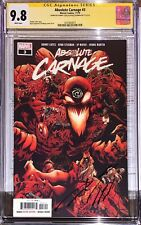 Absolute Carnage 3 CGC SS 9.8 Signed Donny Cates & Ryan Stegman