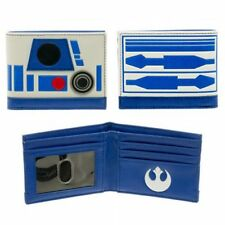 Star Wars BioWorld Bifold Wallet - R2D2 Theme - Rebel Alliance Logo