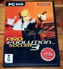 Pro Evolution Soccer 3 PC Game Manual Included